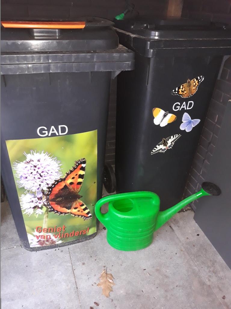 Kliko stickers van de Vlinderstichting