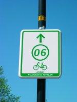 Recreatief fietsen middelsknooppunten