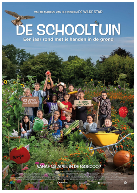 Een jaar rond met je handen in de grond in DE SCHOOLTUIN van de makers van De WildeStad