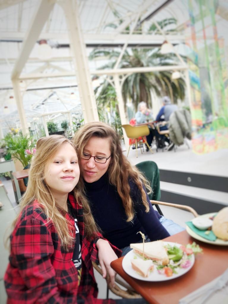 Ilona, portretfotograaf bezocht de Wintertuin