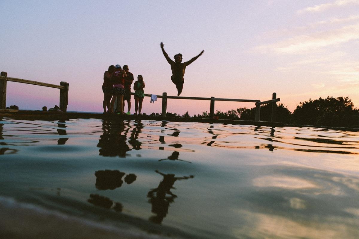 Vrij zwemmen in rivieren of kanalenverboden