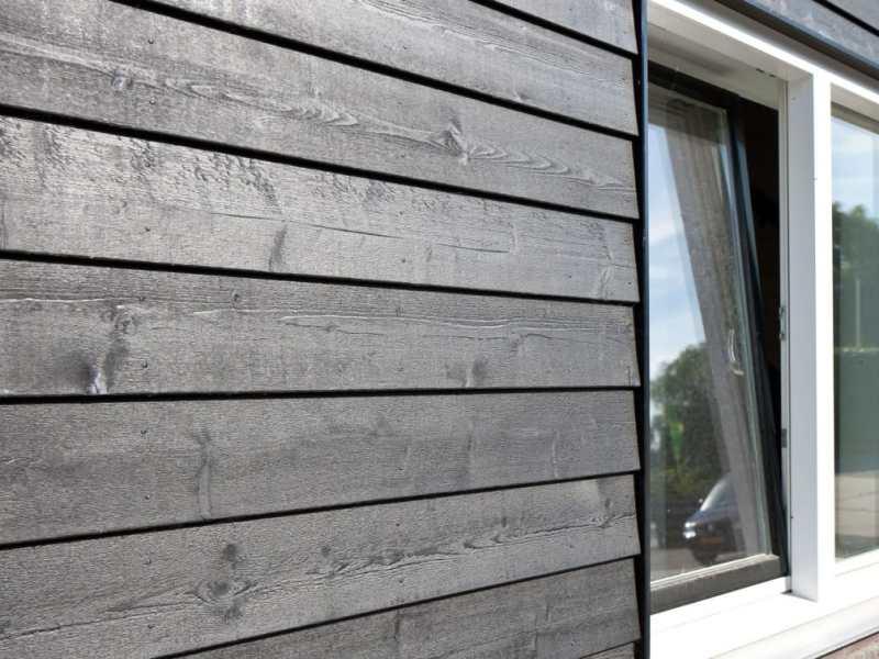 Duurzame houten gevelbekleding