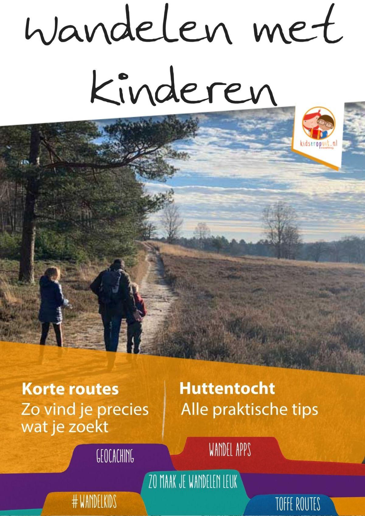 E-book 'Wandelen metkinderen'