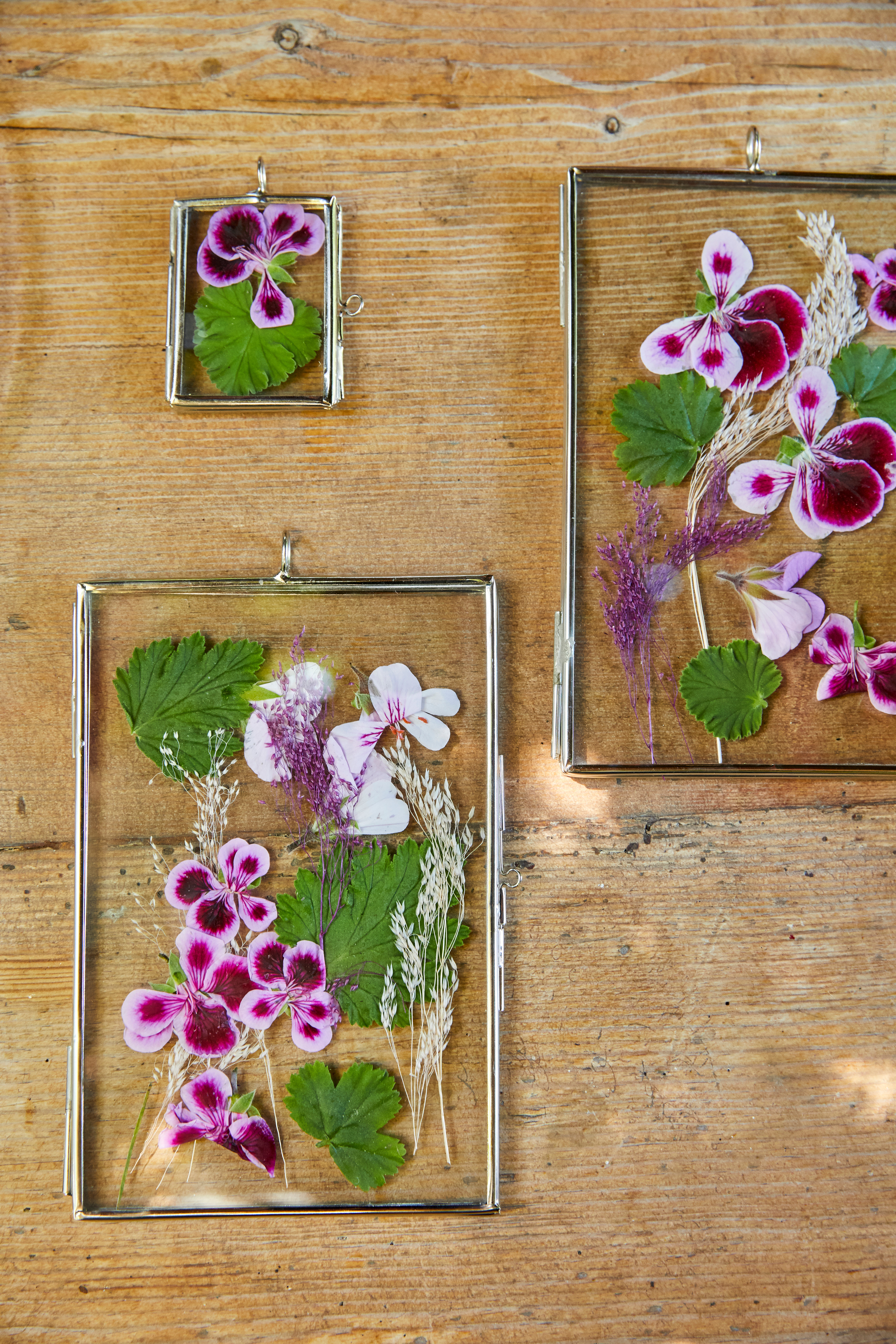 DIY's met geranium