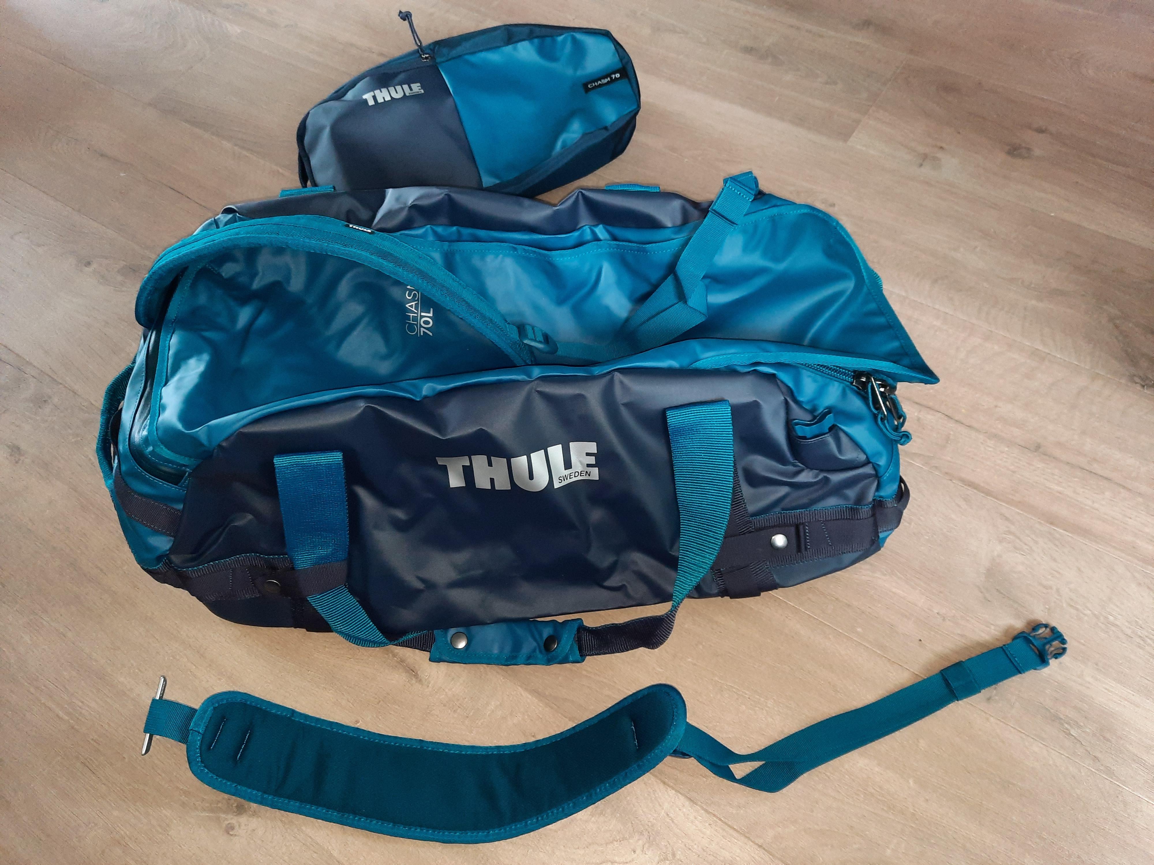 Thule Chasm 70L van duffel naar rugzak